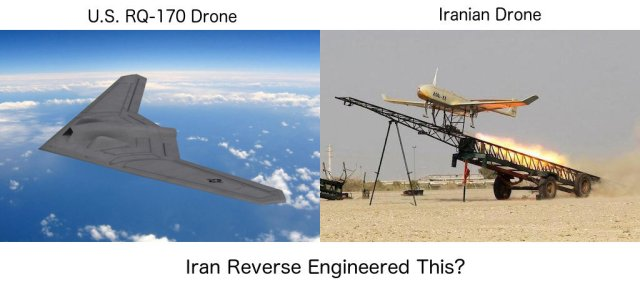 RQ-170 and Iranian Reverse Engineered Drone
