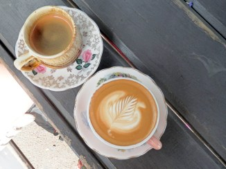Doubleshot Waiheke Flat White and Long Black