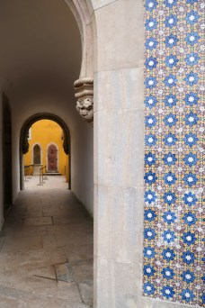 Colours and patterns of Pena Palace