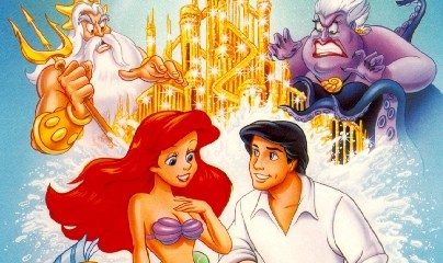The Little Mermaid (1989) 480p 300MB Dual Audio