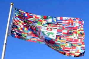 The_world_flag_flying