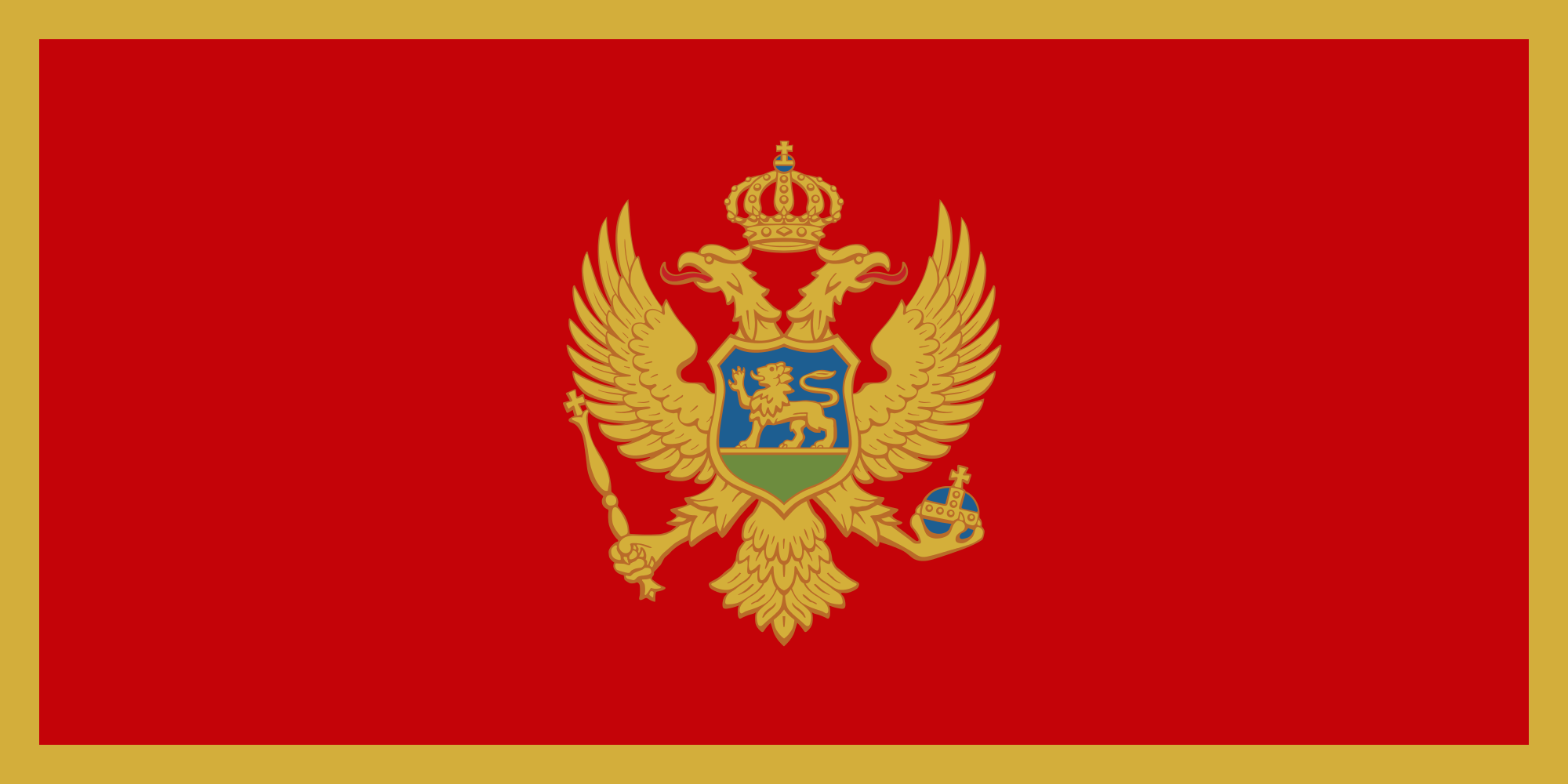 Montenegro flag worldflags flag of montenegro buycottarizona
