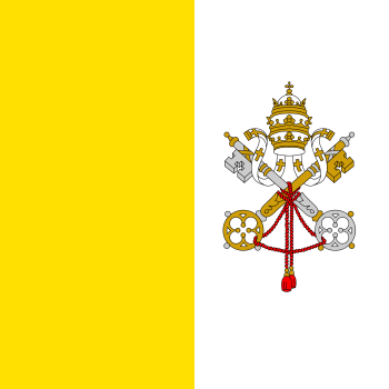 Holy See (Vatican City) Flag