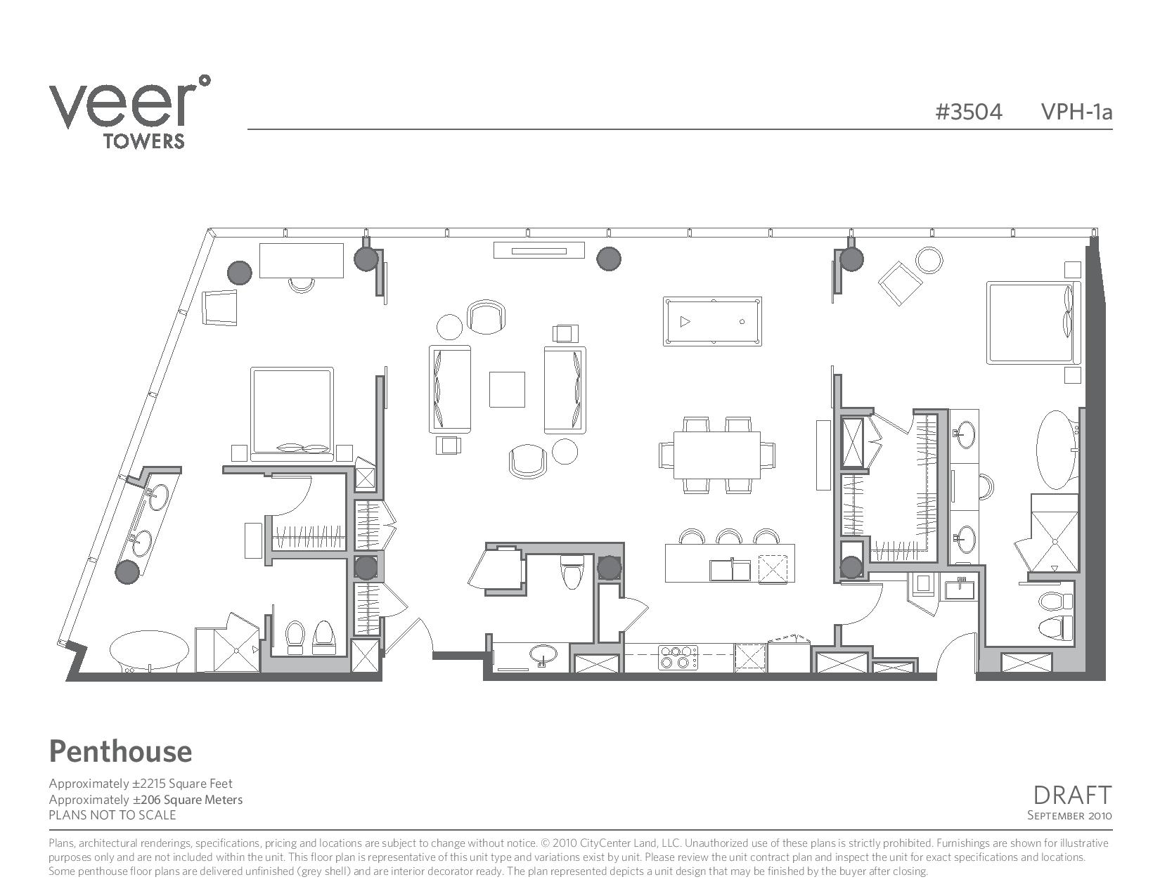 City Center Veer Floor Plans