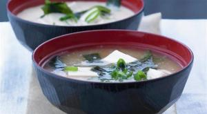 Classic Miso Soup with homemade dashi