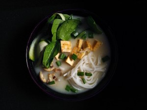 Cauliflower ginger miso soup
