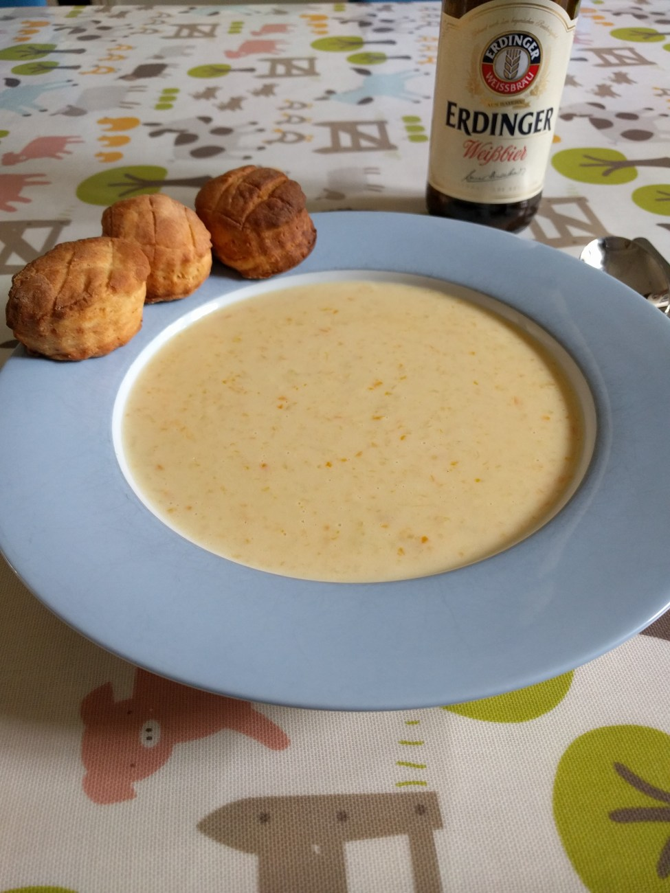 German Beer Cheese Soup