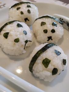 Sushi Rice Pandas