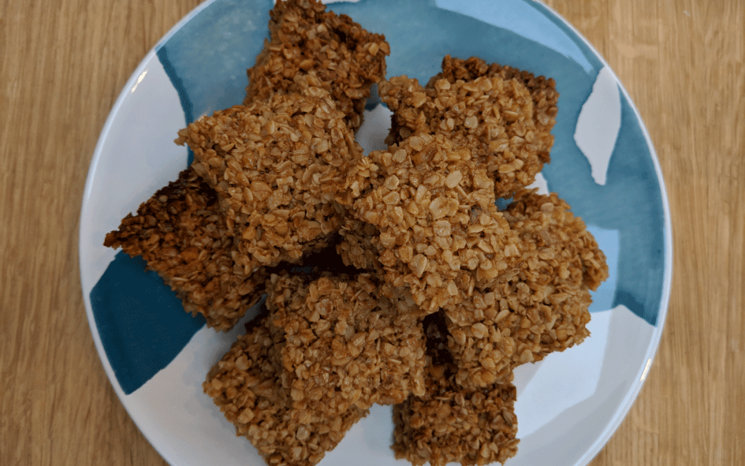 Honey and Oat Slice