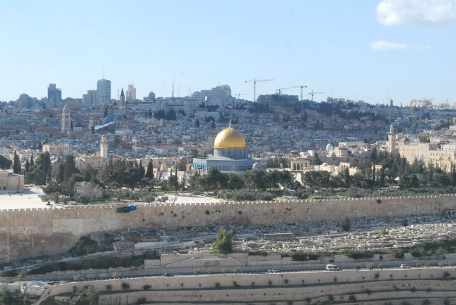 Mount Scopus overlooking Jerusalem