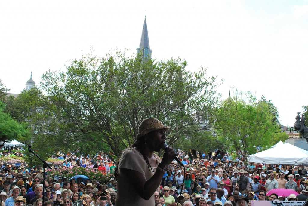 Charmaine Neville at FQF.JPG