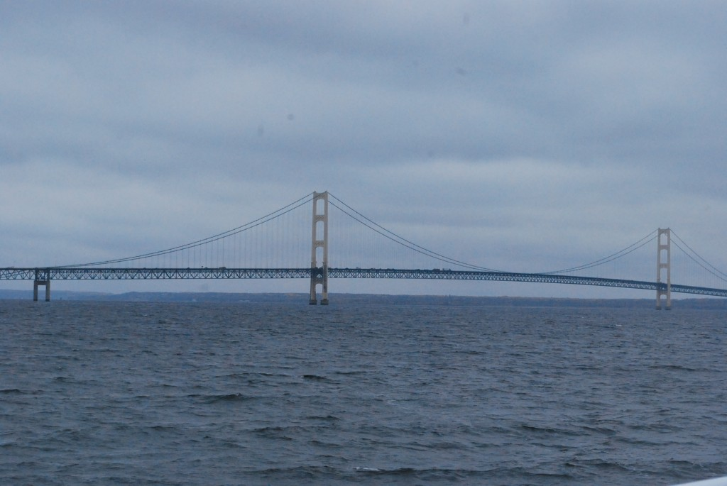 Mackinac Island bridge