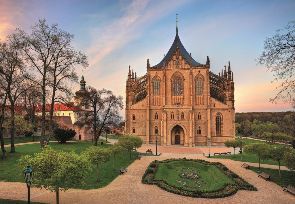 Kutna Hora, a UNESCO site in Central Bohemia.  Photo courtesy of Czech Toursim.