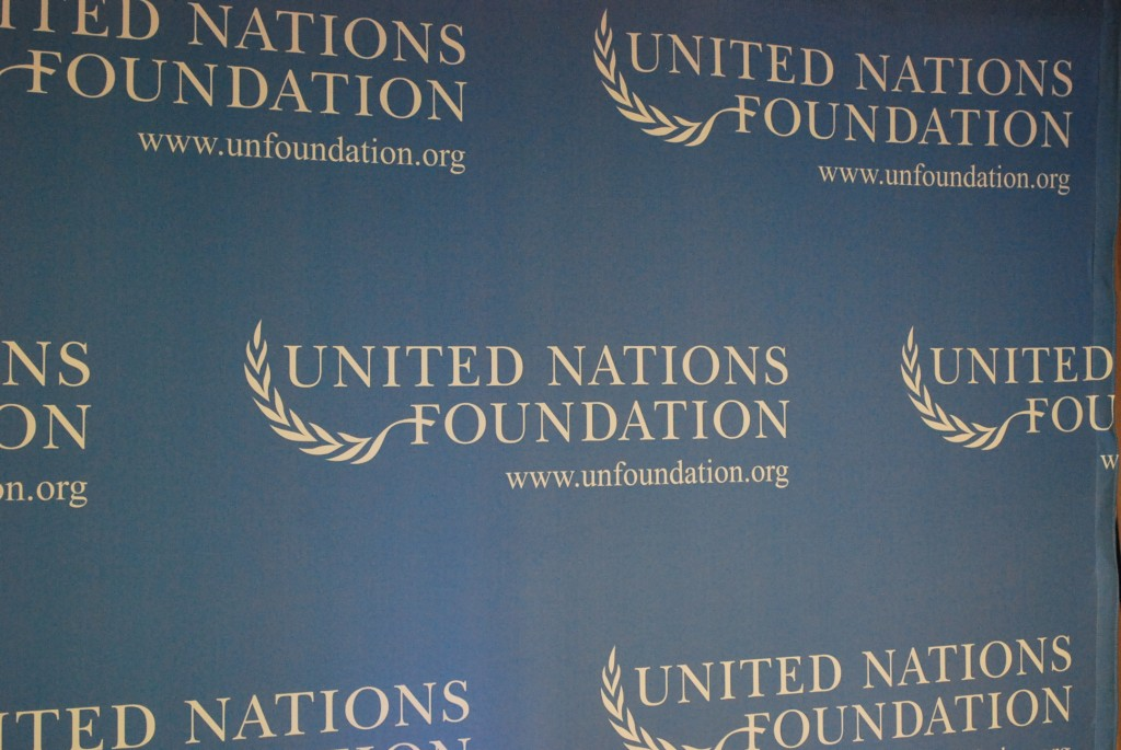 UN Foundation banner