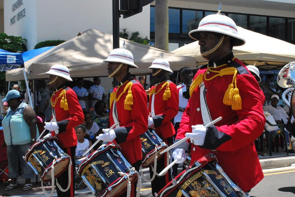 Bermuda Day Regiment.