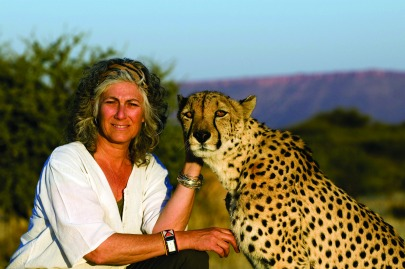 Cheetah Conservation founder Dr. Laurie Marker