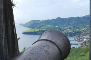 Fort Charlotte overlooking Kingstown, St. Vincent.  Photo:  Tonya Fitzpatrick