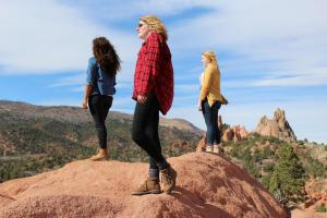 Girls on adventure