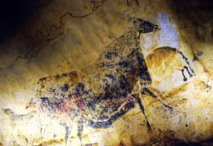 The cave painting of Lascaux exhibit.  Photo: Jason M. Ramos