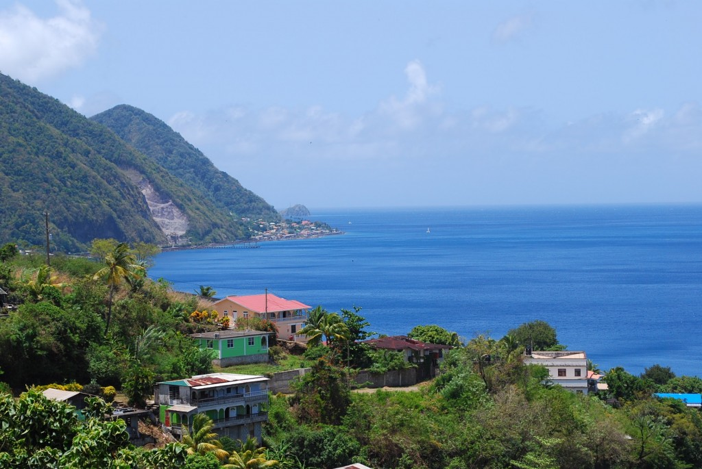 View of Dominica.  Photo by Tonya Fitzpatrick