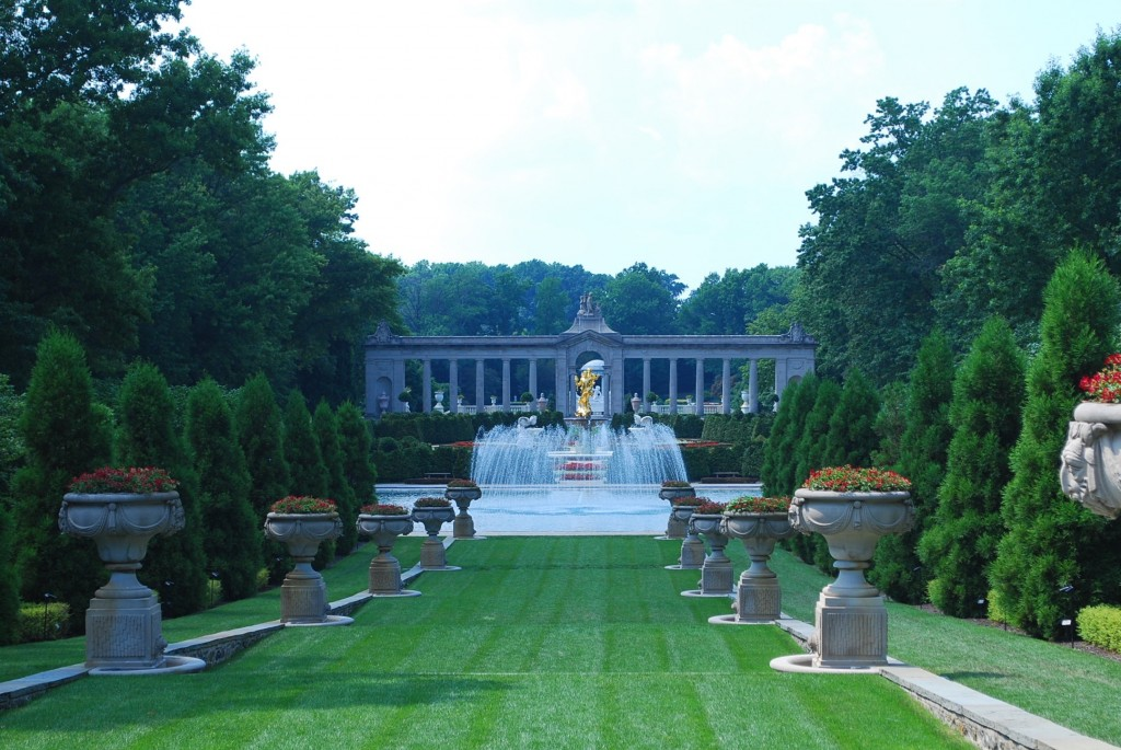 Garden at Nemours Estate.  Photo by Tonya Fitpatrick
