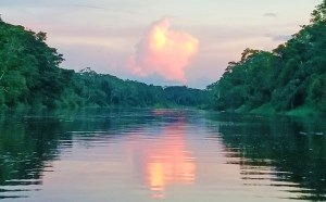 Amazon River at night