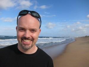 Travel writer Chris Chesak
