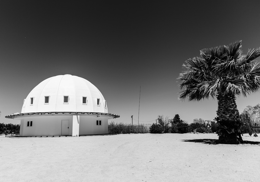 A view of the Integratron. Photo: Josh Fredman