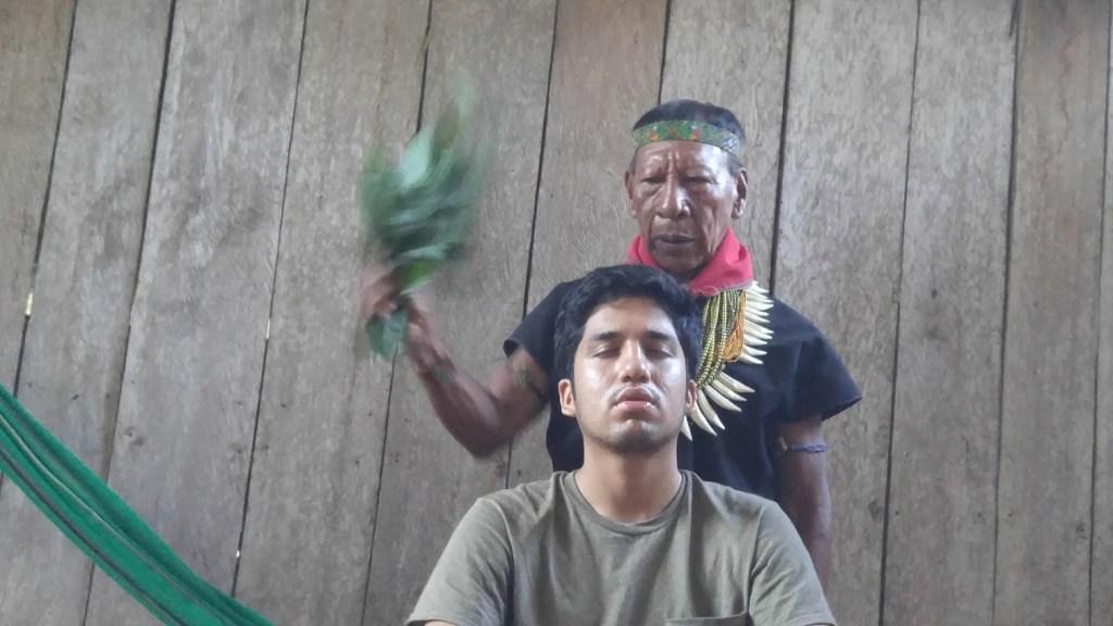 Ecuador shaman.