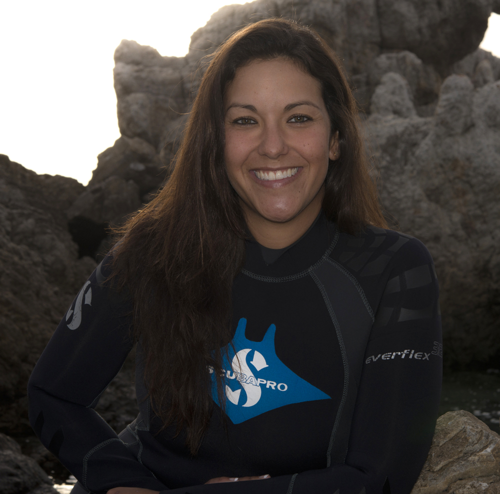 "Photo of Andrea Marshall ""Queen of Mantas"""