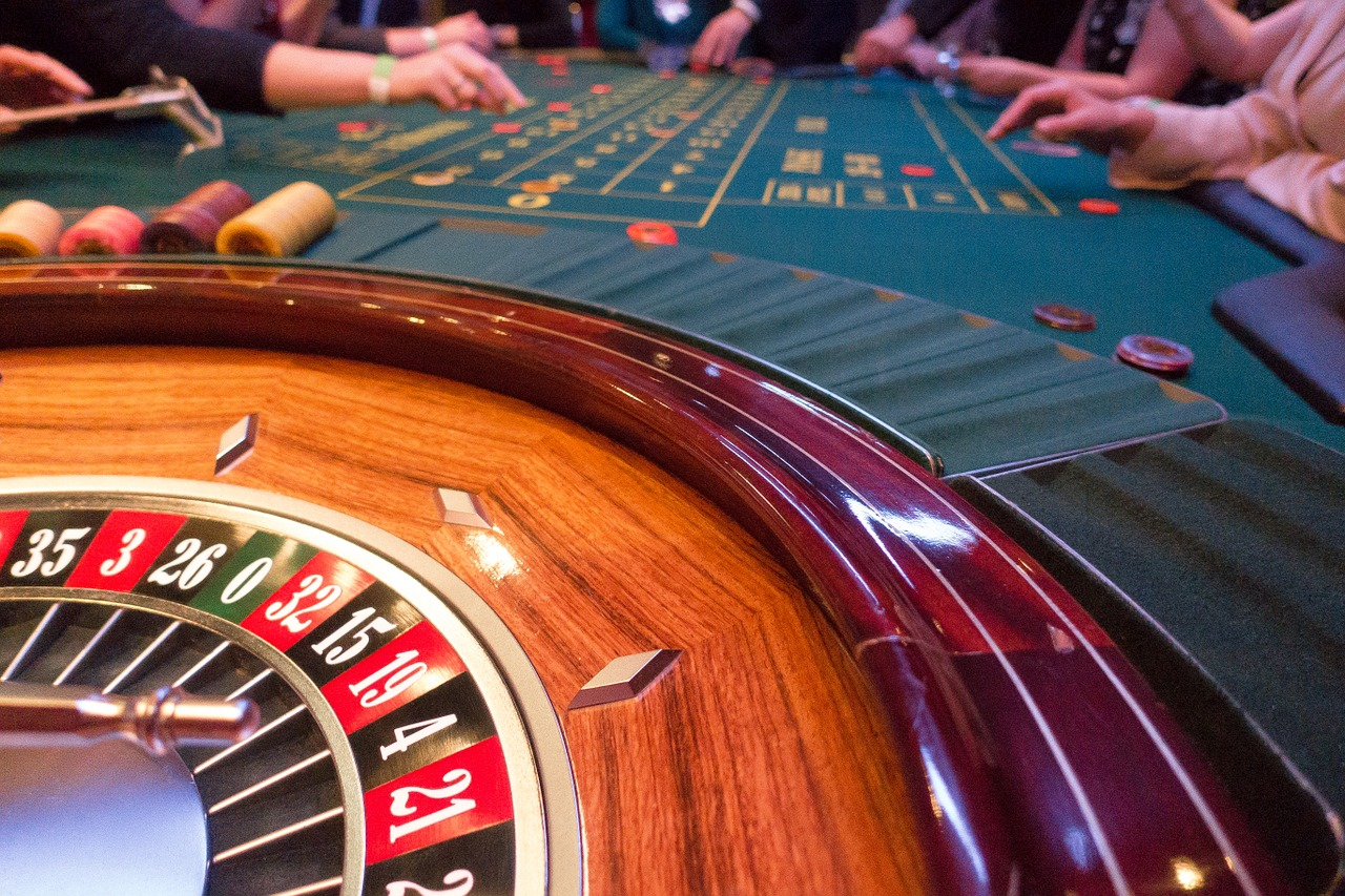 Roulette Table in a Casino