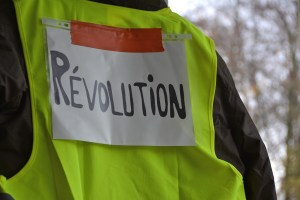 Yellow vests of Paris protests