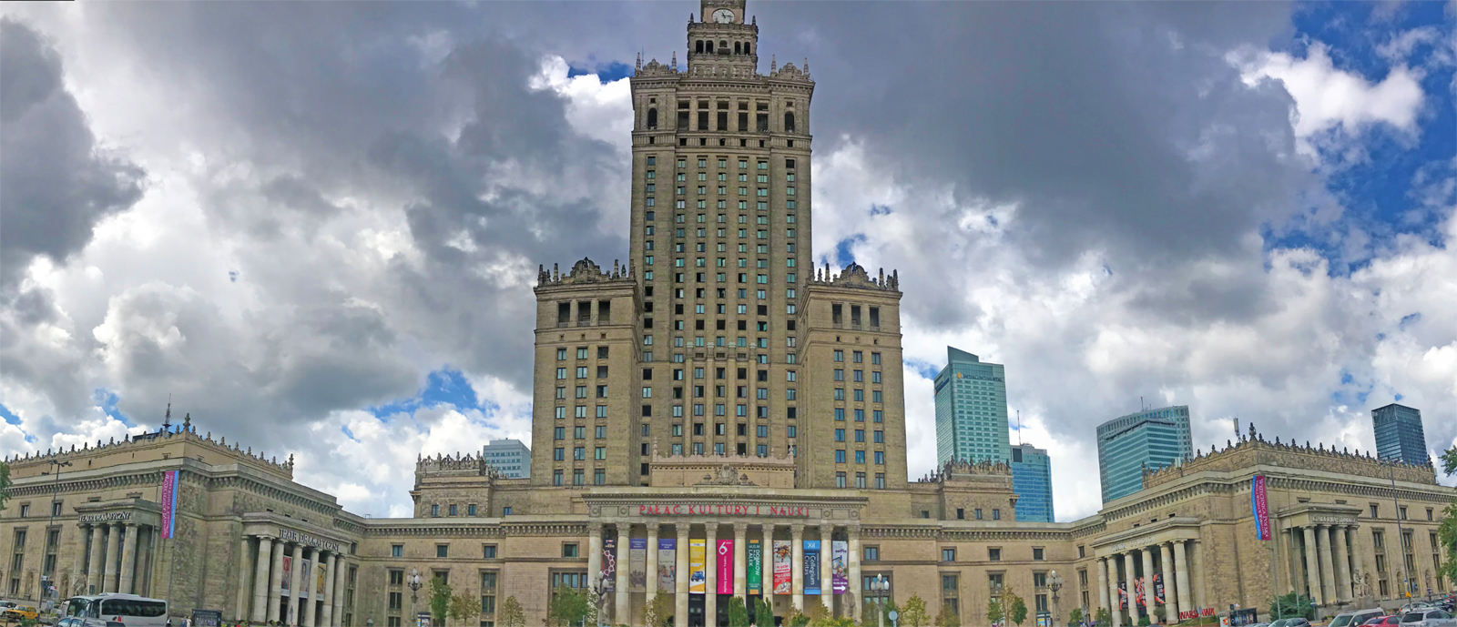Palace of Culture and Science aka Stalin's Penis. Photo: Patti Morrow