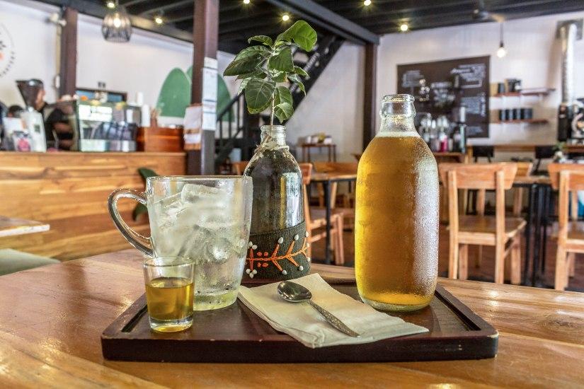 Inside Saffron Cafe. Photo Tara Tadlock