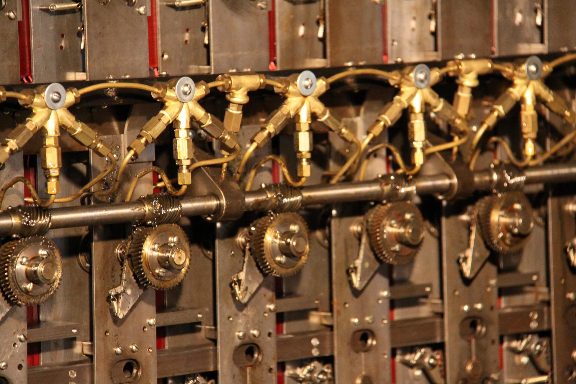 Cypher machine in Bletchey Park