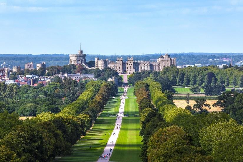 Park on Windsor Castle grounds