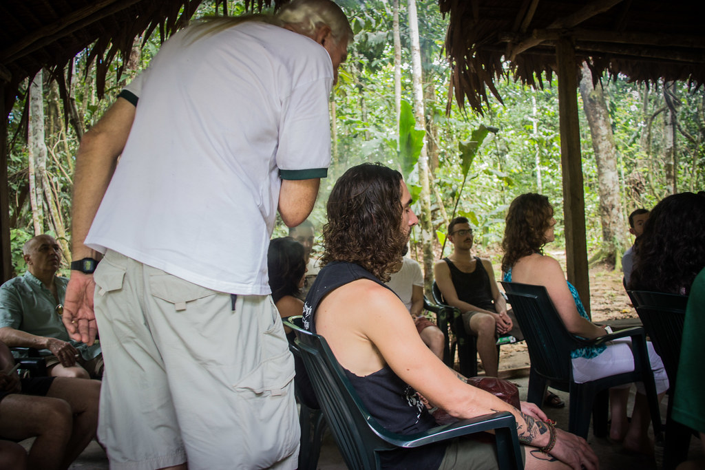 An Ayahuasca retreat