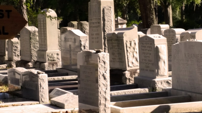 Cemetery in Savannah, Georgia