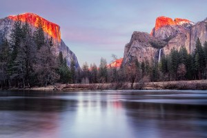 Yosemite National Park was a favorite place of Ansel Adams.