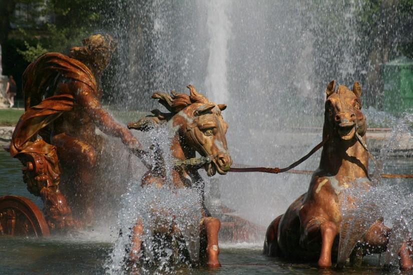 Apollo featured in the Versailles garden.