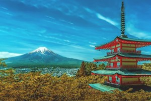 japan-Mt. Fuji and Pagodajpg