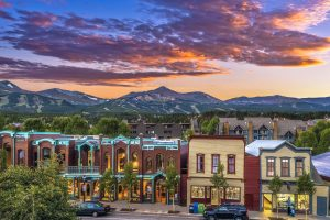 Main Street photo courtesy of Breckenridge Tourism Office. Photo: Jeff Andrew