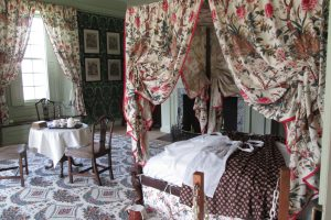 Green Chamber. Photo courtesy of Schuyler Mansion State Historical Site.