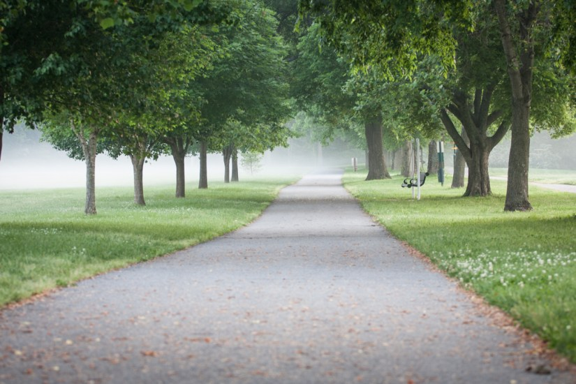 One of many scenic walking trails in downtown Franklin, Tennessee. Photo courtesy Visit Franklin.
