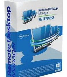 Remote Desktop Manager Enterprise 2021.1.20.0 free download