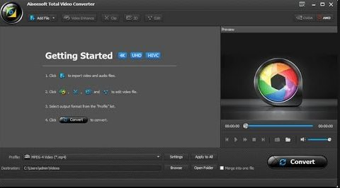 Aiseesoft Total Video Converter 9 free download