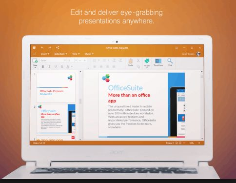 OfficeSuite Premium Edition 2.70 crack download