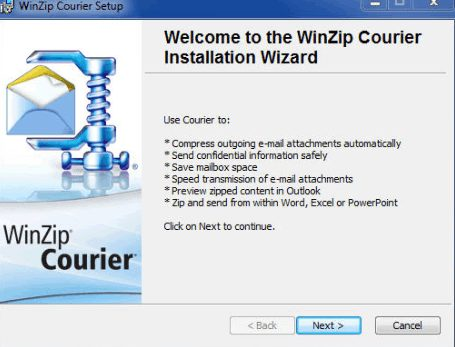 WinZip Courier 9 free download