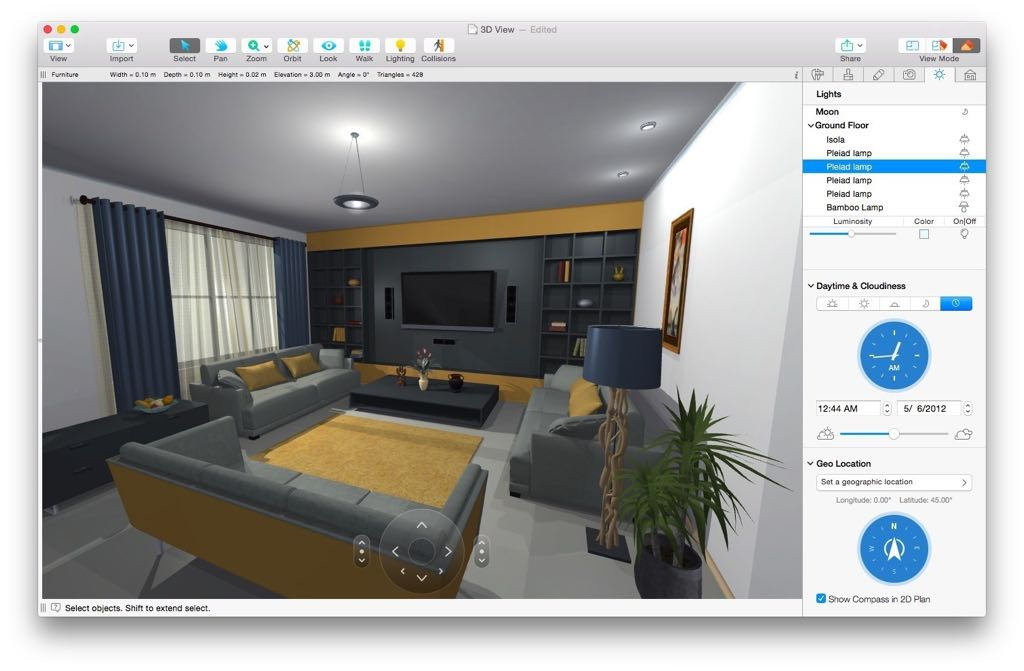 Live Home 3D (Live Interior 3D) 3.3.3 Free Download for Mac