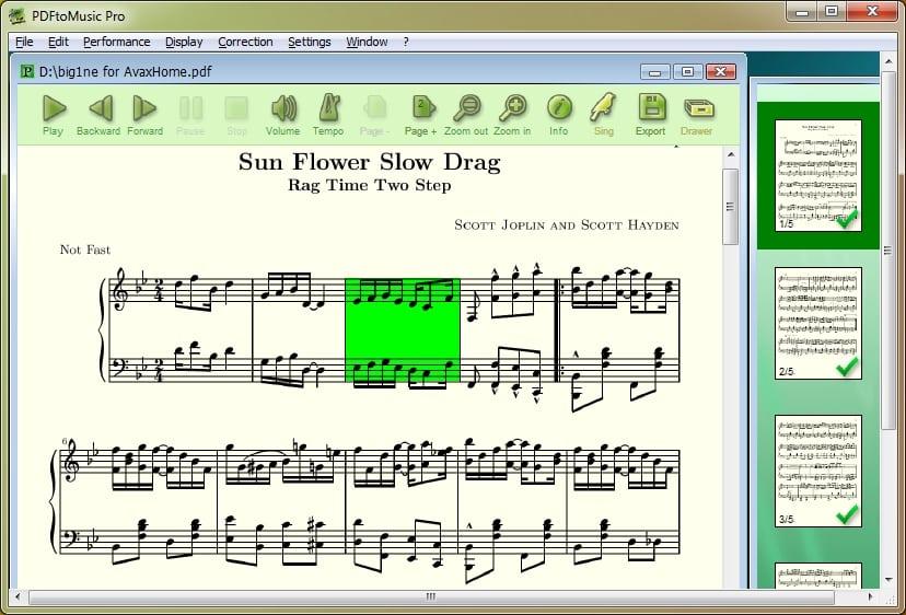 Myriad PDFtoMusic Pro 1.6.5 Free Download